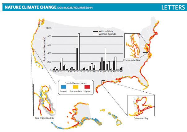 Arkema et al. 2013 Nature