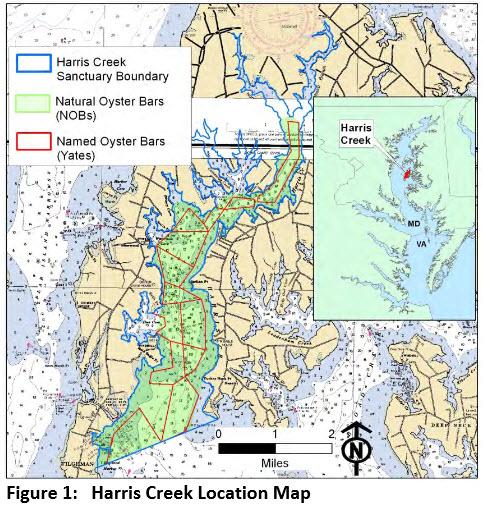 Harris creek new map
